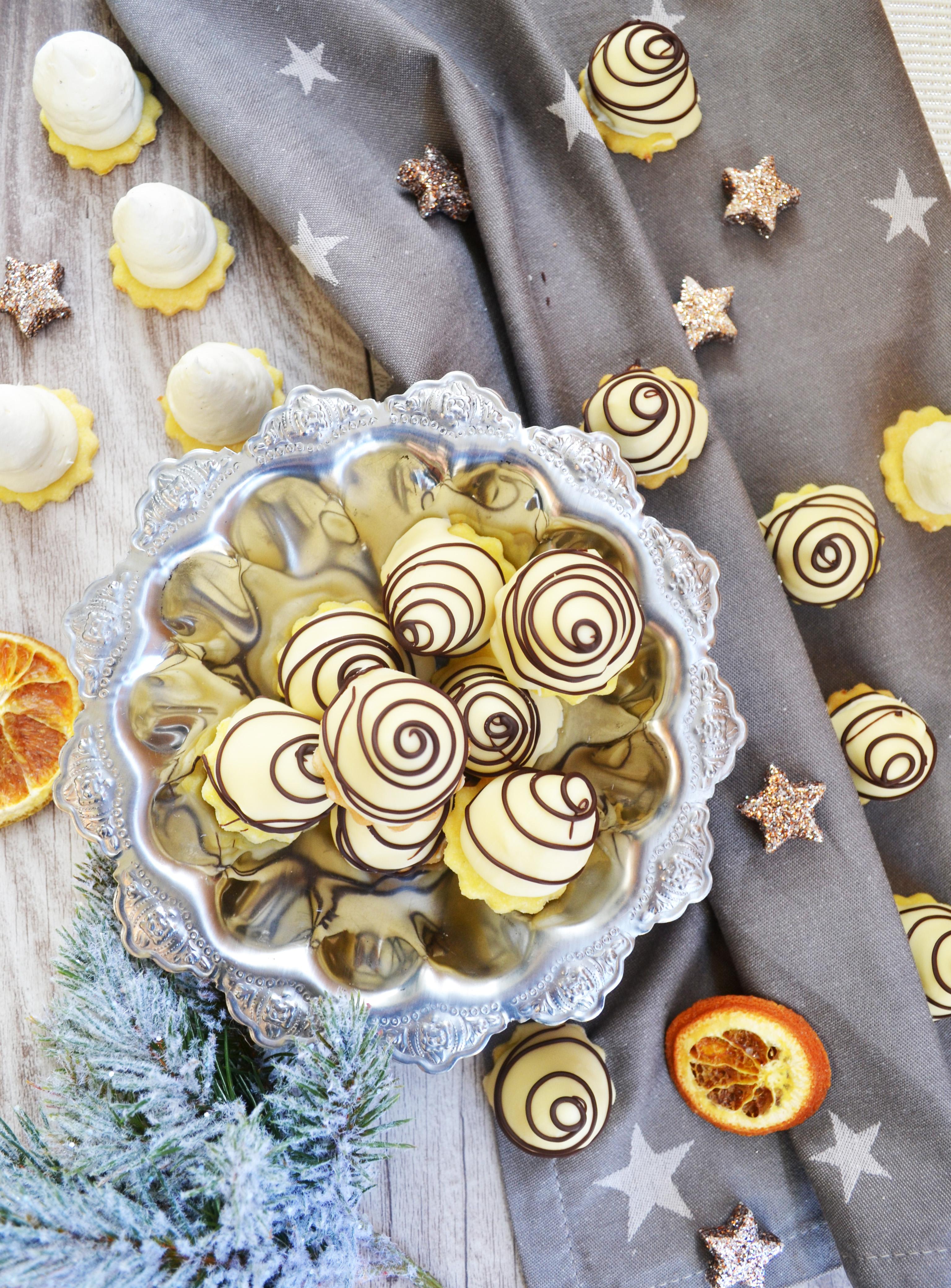 Die dürfen an Weihnachten nicht fehlen! Weiße Schokolade-Spitzen ...